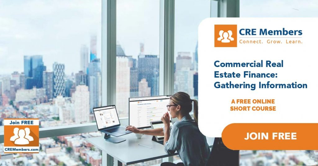 Free Online Short Courses In Commercial Real Estate Gathering Information CRE Members