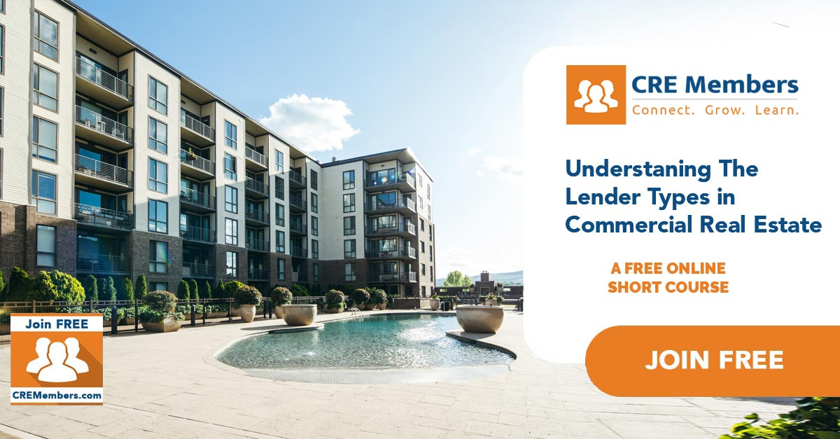 Free Online Short Courses In Commercial Real Estate Lender Types CRE Members