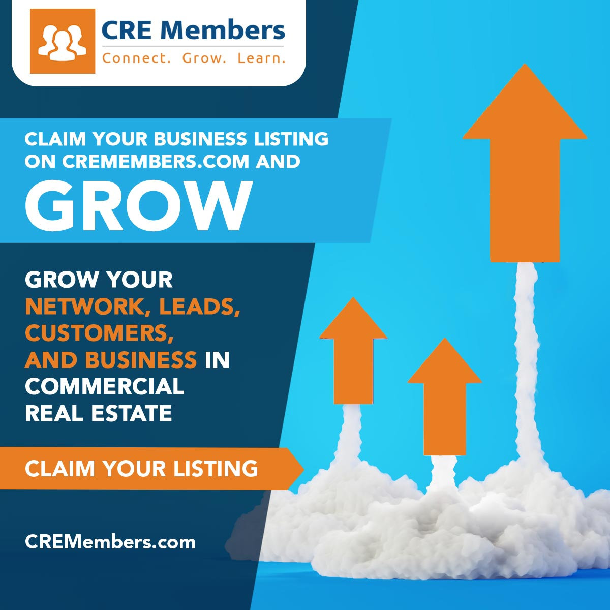 CRE Members Network For Commercial Real Estate Professionals Claim Your Business Listing