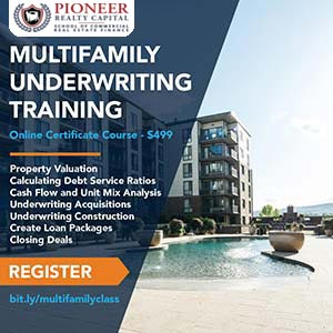 Multifamily Underwriting Training Courses Certificates Linked