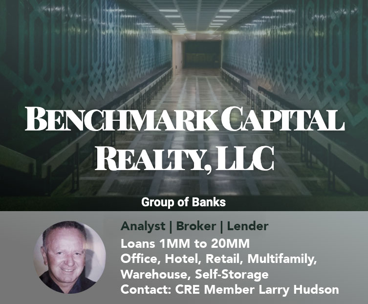 Featured Lenders CRE Members Benchmark Capital Realty LLC